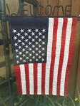 "United States America USA Applique Garden Flag 12"" x 18"""