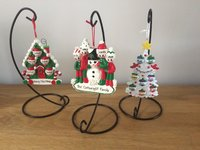 Hand Personalised Christmas Tree Decorations