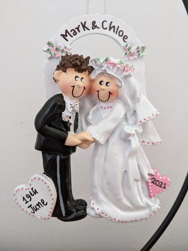 Wedding Couple Arch Personalised Wedding Decoration